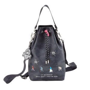 GENTIL BANDIT ジャンティバンティ LIMITED EDITION 2WAY POUCH BAG 10周年限定巾着バッグ GB10E-KC-DIGI|exclusive