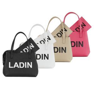 LADIN ラディン MINI TOTE BAG ミニトートバッグ ユニセックス ゴルフアパレル Black White Beige Pink|exclusive