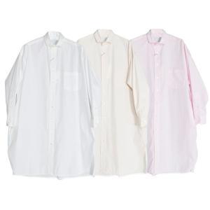 【SALE 40】TICCA ティッカ スクエアチュニックシャツ レディース 21春夏 WHITE CREAM PINK TBAS-105 exclusive