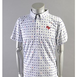 SALE! 2018 Fairy Powder フェアリーパウダー FP18-1109 FP Icon Print Polo Navy|excorsgolf