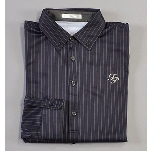 Fairy Powder フェアリーパウダー FP18-5100 Stripe Long Sleeve Polo Navy|excorsgolf