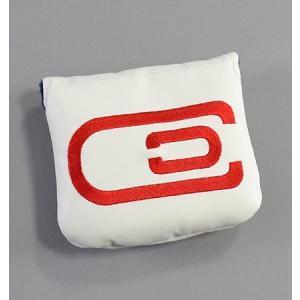 エクスコアーズオリジナル excors Magnetic Mallet Center Shaft  マグネット マレットパターカバー White/Red|excorsgolf