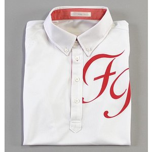 Fairy Powder フェアリーパウダー FP19-1115 FP Big Logo Polo White/Red|excorsgolf