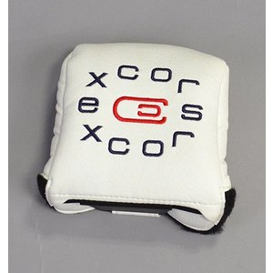 AM&E エクスコアーズオリジナル excors original Universal Large Mallet Putter Cover ラージマレットタイプ 用|excorsgolf