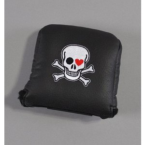 AM&E Skull Universal Large Mallet Putter Cover ラージマレット パターカバー|excorsgolf