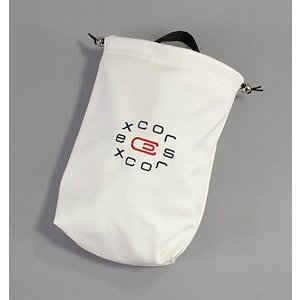 AM&E エクスコアーズ オリジナル excors original Shoe Bag シューズバッグ White|excorsgolf