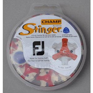 Champ チャンプ Stinger Tri-Lok for Footjoy Red/White スパイク鋲|excorsgolf