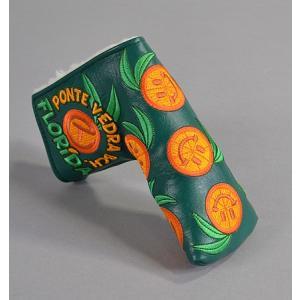 スコッティーキャメロン Scotty Cameron 2014 Web.com - Dancing Orange Slices Circle T パターカバー|excorsgolf