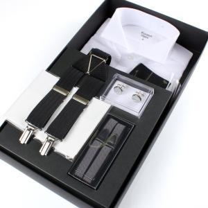 メンズ フォーマル シャツ 小物6点セット 日本製 excy