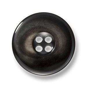 カイザー チャコール(色番: 7) 20mm [EXCY本水牛ボタンシリーズ]|excy