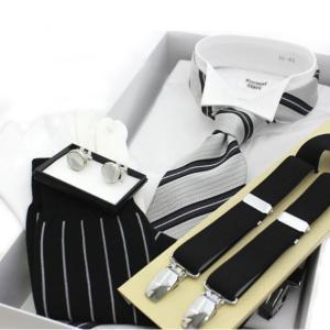 モーニングスーツ シャツ 小物7点セット 結婚式お父様衣装小物セット 式典衣装小物セット excy