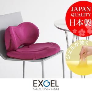 エクスジェル メーカー公式 EXGEL ハグカンフィプレミアム HUG01 日本製 クッション ジェ...