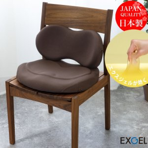 エクスジェル メーカー公式 EXGEL ハグカンフィ HUG02 日本製 クッション ジェルクッショ...