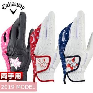 Callaway (キャロウェイ) Bear Dual レディース ゴルフ グローブ (両手用) 1...