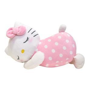 サンリオ キティ モリシタ(添い寝枕 キティ)SANRIO ハローキティ キャラクター まくら 抱き枕 ぬいぐるみ 送料無料|exis