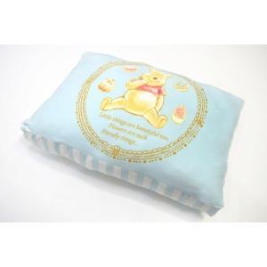 ディズニー プー モリシタ(もちもち枕 プー)まくら ピロー 寝具 リバーシブル 37×57cm Disney くまのプーさん 送料無料|exis