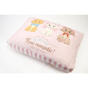 ディズニー マリー モリシタ(もちもち枕 マリー)  まくら ピロー 寝具 リバーシブル 37×57cm Disney おしゃれキャット 送料無料|exis