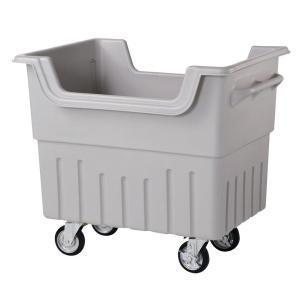 ジャンカート JC340(ミヅシマ工業) 内容量約340L   約1070 × 770 × 955mm 大型ゴミ保管庫 ポリエチレン製 排水栓・口付 exis