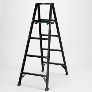 【送料無料】アルインコ 軽量脚立5尺 ブラック(BS-150FX) 高さ1.41m アルミ|exis