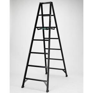 【送料無料】アルインコ 軽量脚立7尺 ブラック(BS-210fx) 高さ1.99m アルミ|exis