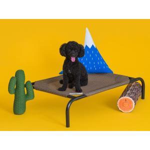 ファブリック ドッグベッド(小型犬用) ペットベッド 犬用ベッド 犬用コット 送料無料|exis