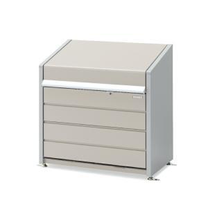 イナバ物置 ダストボックス・ミニ 400Lタイプ DBN-106P パネル床タイプ  関東送料無料 一部地域組立対応可 ゴミ保管庫 exis