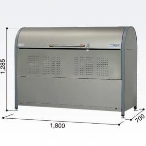 ゴミ収集庫 ダストピットNタイプ DPNC-1050(ヨドコウ) マンション 集合住宅 ゴミ箱 ダストボックス exis