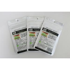 母の日ギフト カイワレスプラウト 詰め替え種子 GFP0004 グリーンフィールドプロジェクト ブロッコリースプラウト オーガニック 送料無料|exis
