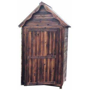 木製物置 収納庫 ガーデンストア1211|exis