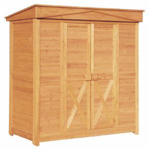 木製物置 収納庫 ガーデンストア1911|exis
