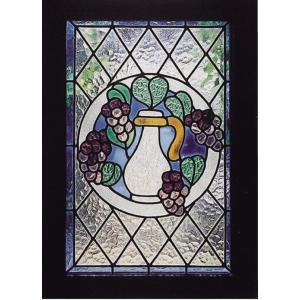 レトロ ステンドグラス ブドウ(87002)|exis