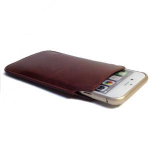 iphone 6 s 革 スリーブ ケース 4.7インチ 保護アルミバンパー付   gabb(シルバー) 送料無料|exlead-japan