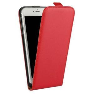 縦開きiPhone 7/8 手帳型ケース たて型フラップで通話しやすい (レッド) 送料無料|exlead-japan