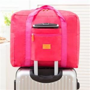 折りたたみ バッグ ピンク 旅行 大容量 トラベル 出張 軽量 防水 レディース メンズ 送料無料|exlead-japan