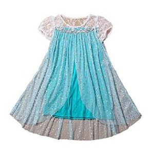 ワンピースとティアラの2点セット 半袖 コスプレ ハロウィン 子供 キッズ 衣装 スター柄 140cm 送料無料|exlead-japan