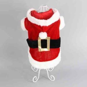 大注目おもしろ ドッグウェア 夢を届ける サンタクロース 衣装に変身Sサイズ|exlead-japan