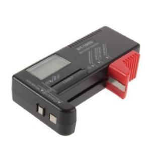 電池 測定 乾電池 ボタン電池 バッテリーテスター バッテリーチェッカー バッテリーチェック 電池残量測定器 ブラック 送料無料 exlead-japan