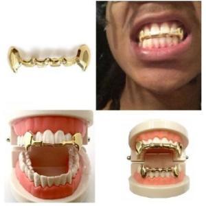 GRILLZ グリルズ トップ 上歯 牙 タイプ ゴールド 金 歯 おしゃれ メンズ レディース 人気 送料無料 exlead-japan