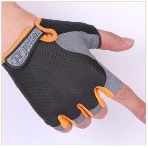 かっこいい メッシュ ハーフフィンガー グローブ 黒 M 半指手袋 夏 ロードバイク サイクリンググローブ トレーニング 筋トレ スポーツ用手袋|exlead-japan