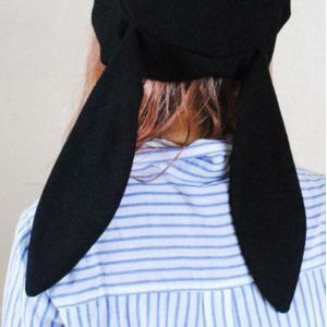 うさ耳 ベレー帽 ラビット 耳つき 垂れ耳  ガーリー ハロウィン パーティー 仮装 インスタ映え 原宿系 カジュアル 送料無料|exlead-japan