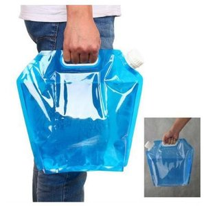 ウォーターバッグ 避難防災グッズ ウォーター 水 タンク 10L 水袋 持ち運べる 大容量 折りたたみ 安全 避難グッズ 貯水 水袋 青|exlead-japan