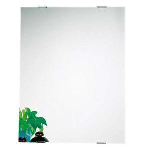 N-4 交換用鏡 簡単 洗面 風呂 ミラー 四角 バスルーム 日本 浴室 替