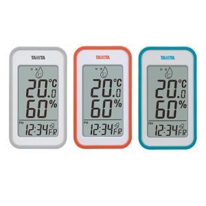 TANITA タニタ デジタル温湿度計 TT-559 アラーム 温度計 湿度計 デジタル時計 卓上 室内 おしゃれ 置き時計|exlead-japan