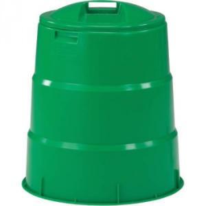 三甲 サンコー 生ゴミ処理容器 コンポスター130型 805039-01 グリーン 生ごみ軽減 コンポスト 手軽 毎日処理 66×60×60cm 生ゴミ処理専用容器 堆肥 便利 exlead-japan