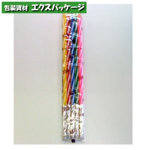 【池伝】カメヤマ キャンドル ストライプ 12cm (5本入り) B7236-12-66 591246