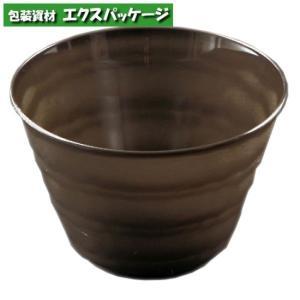 【リスパック】プラカップ 陶器イメージ フィネオ FWS88-180(3) 黒 40入|expackage