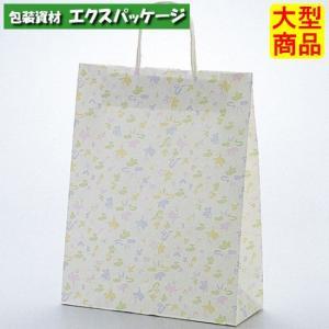 手提袋 ラッピーバッグ No.2 花ふぶき 200枚 0120359 ケース販売 取り寄せ品 福助工業|expackage