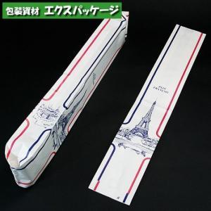 フランスパン袋 エッフェル塔 L 50枚入 #004160100 バラ販売 シモジマ|expackage