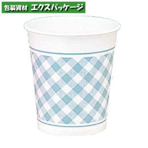 紙コップ ヘイコーペーパーカップ 5オンス Nギンガム ブルー 150ml 3000個入 #004535516 ケース販売 取り寄せ品 シモジマ|expackage