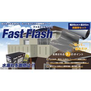 万能防水シート ファストフラッシュ 5m x 28cmサイズ+剥離剤 60ml|expantay|02